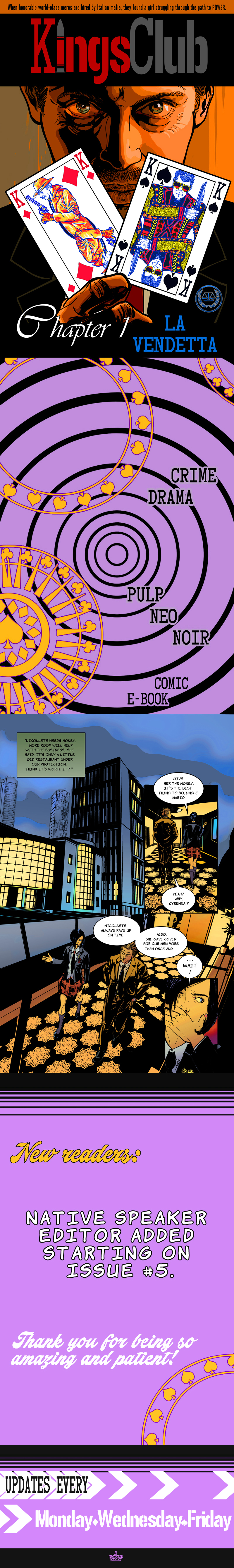 Kings Club Chapter 1 La Vendetta PG001
